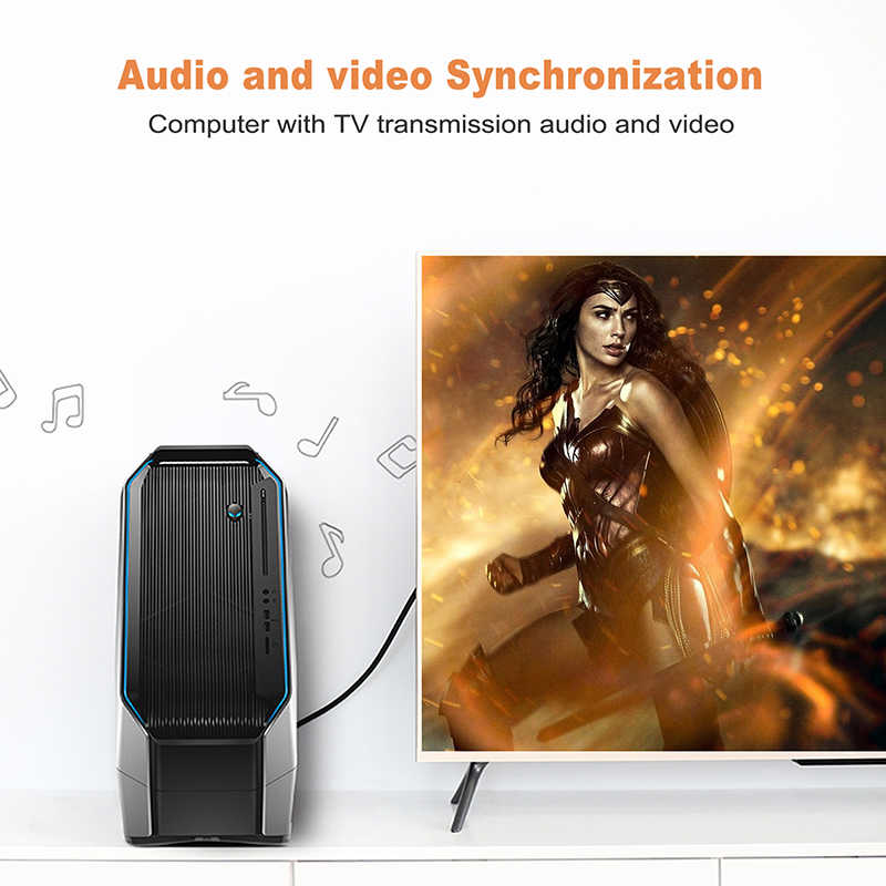 Cabletime كابل الذكور إلى موانئ دبي DisplayPort 4k 60hz موانئ دبي 1.2 كابل 2M 3M موانئ دبي مقاطع فيديو الصوت عرض ميناء كابل ل HDTV العارض PC N079