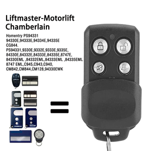 Image 2 - Liftmaster 94335E Motorlift Chamberlain 84335EML Garage Door Remote Control Wireless Transmitter 433.92mhz Rolling Code