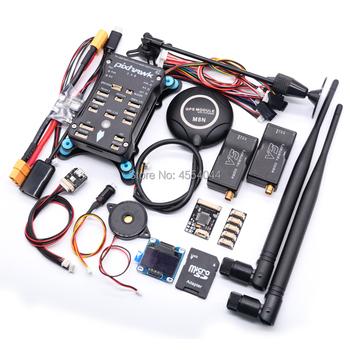 Pixhawk 2 4 8 PX4 PIX 32 Bit kontroler lotu + M8N GPS + 433 915Mhz 100 500mw Radio telemetria + przełącznik bezpieczeństwa + Buzzer + rgb + I2C + 4G SD tanie i dobre opinie TEAEGG CN (pochodzenie) Materiał kompozytowy Baterii Adapter Regulatory prędkości 51mm*82mm*17mm Pojazdów i zabawki zdalnie sterowane