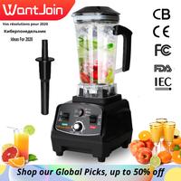 WantJoin Heavy Duty Automatico Grado Timer Blender Mixer Spremiagrumi Macchina Milk Shake CE Robot da Cucina Frantoio di Ghiaccio Frullati