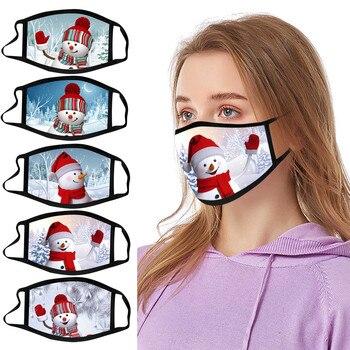 2020 regalo de Navidad, Mascarilla para adultos, máscara de Mujer, máscaras faciales...