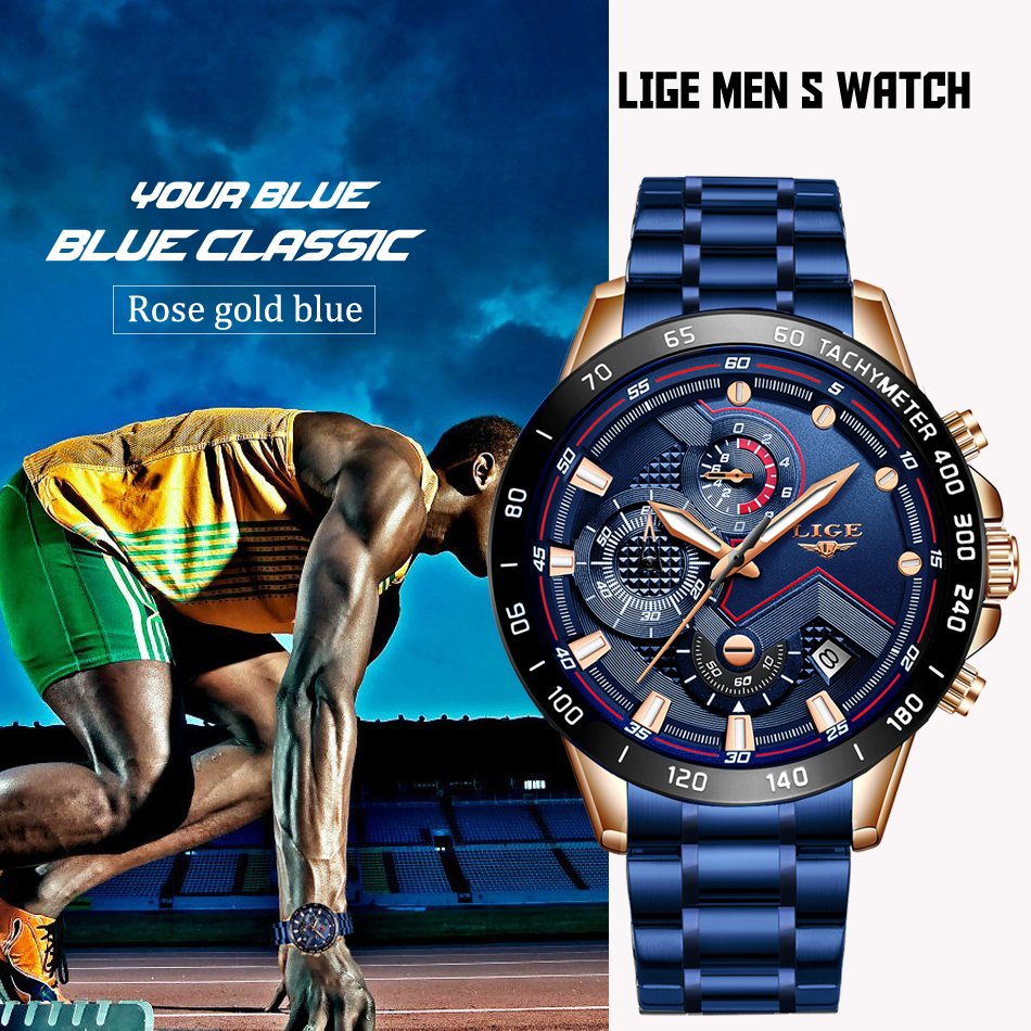 marca superior relógio de luxo masculino militar