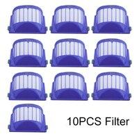 10 pçs robô aspirador de pó kits de filtro para o irobot roomba 500  600 série parte do filtro irobot
