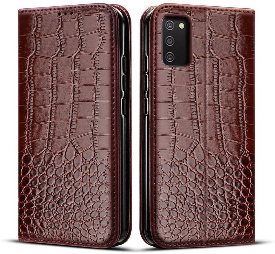 Кожаный чехол-книжка для Samsung A02S, мягкая задняя крышка из ТПУ для Samsung Galaxy A02S, чехол для A 02 S A02 S, чехол для телефона, чехлы