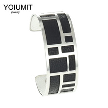 Cremo Bracelets Bangles For Women Yoiumit Stainless Steel Bracelet Manchette Femme Interchangeable Arm Cuff Jewelry Pulseras