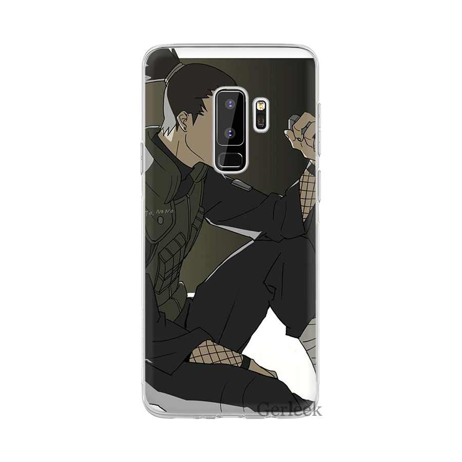 Kılıf na Samsung Galaxy J1 J2 J7 J5 J6 J3 Prime telefon komórkowy twarda pokrywa ochrona Nara Shikamaru