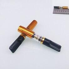 Ручной моющийся магнит двойной держатель для сигарет фильтр Держатель для сигарет резные металлические трубы фильтр для мундштука аксессуары для курения