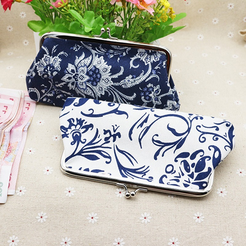 ETya Floral China Style Women Cosmetic Bag Travel Make Up Bags Large Neceser Toiletry Organizer Case Clutch Tote Reto Pouch