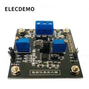 Image 1 - アンプ ボード AD623 モジュール計装アンプデジタル制御ポテンショメータ MCP41100 プログラマブルアンプ