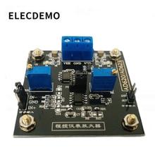 Amplificador placa ad623 módulo instrumentação amplificador controlado digitalmente potenciômetro mcp41100 amplificador programável