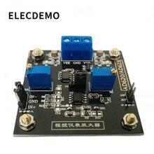 Wzmacniacz pokładzie AD623 moduł wzmacniacz oprzyrządowania sterowany cyfrowo potencjometr MCP41100 programowalny wzmacniacz