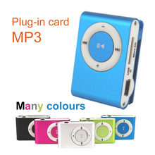 RS OEM-mini Portable MP3 player Mini Clip MP3 Player TF card USB headset waterproof sport mp3 music player walkman lettore mp3(China)