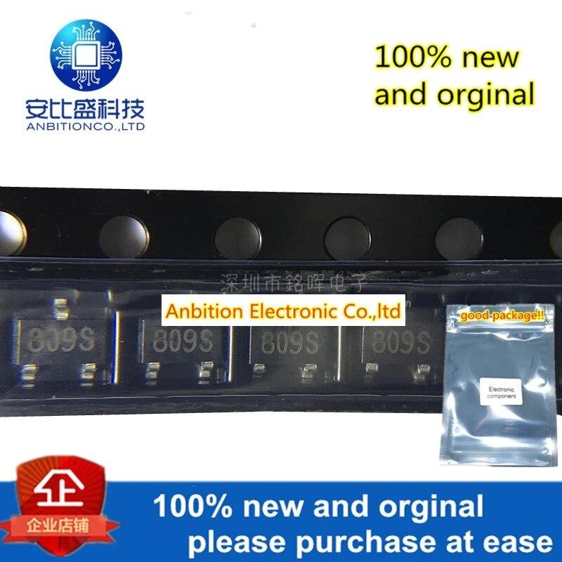 10pcs 100% New And Orginal SGM809-SXN3---TR Silk-screen 809S SOT23-3 2.93V In Stock