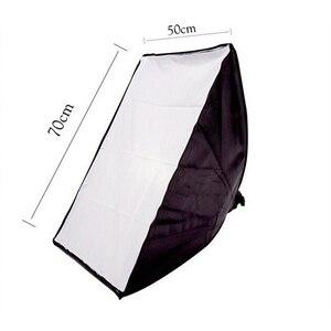 Image 4 - Fotografia Softbox Lightbox Kit 2 szt. Miękkie pudełko szt. Lekki statyw 2 szt. 4 oprawka do gniazda oświetlenie studia fotograficznego
