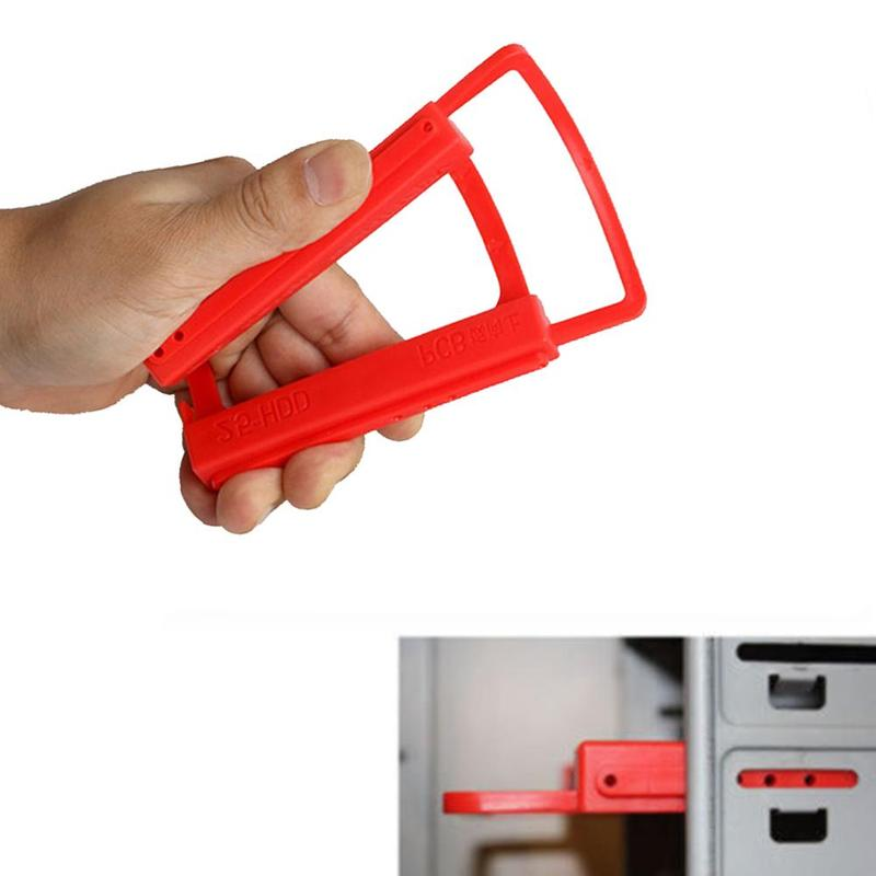 2.5 Inch To 3.5 Inch SSD HDD Notebook Hard Disk Drive Mounting Kit Plastic Adapter Bracket Dock For Desktop PC