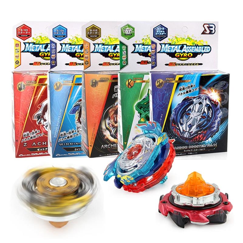 PWTAO Bey Battling Top Burst Launcher Grip Toy Blade Set Game Storage Box Case 10 Top Burst Gyros 2 Launchers Great Birthday Present for Boys Children Kids