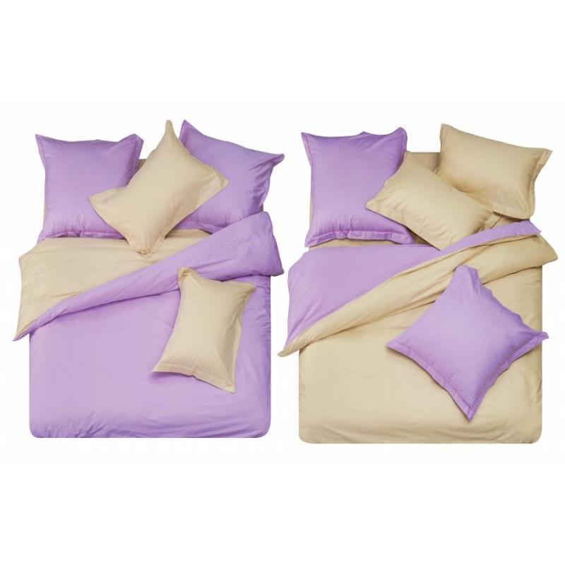 Bedding Set полутораспальный СайлиД, L, purple/beige bedding set полутораспальный сайлид red flowers