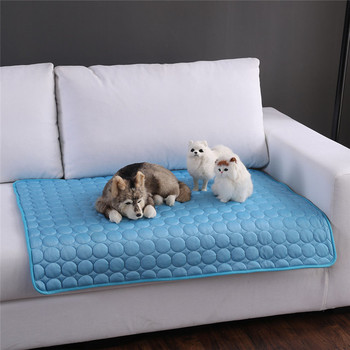 Cooling Mats Blanket Pet Small Dog Bed Sofa Mats For Dogs Cats Sofa Portable Tour Camping Pet Accessories Hondenmand Cama Perro