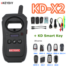 KEYDIY generador de llaves remoto para desbloqueo de KD X2, dispositivo Original de 96 bits, 48 transpondedor, copiadora de Chip con KD, recolector de datos de llave inteligente