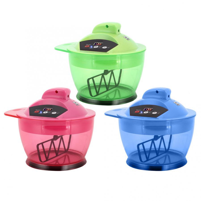 Electric Hair Coloring Bowl Dyestuff Automatic Mixer Professional Hair Dye Styling Salon Mixing Tools-ABVP