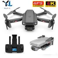 Dron S3 con GPS, cámara dual 6K, fotografía aérea profesional, motor sin escobillas, cuadricóptero RC, distancia de 2020 CM, helicóptero rc, novedad de 500