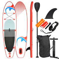 SUP305 Stand up Paddle Board 305x76x10cm, SUP, surfboard, surf board, bag, paddle, fin, air pump, repair kit, foot leash