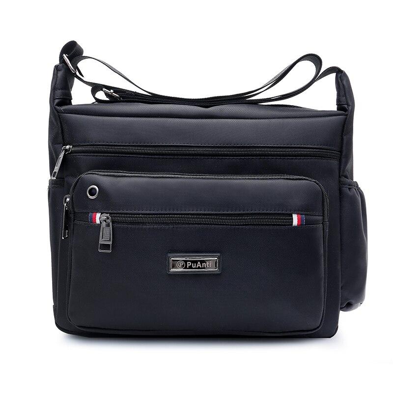 Men's Bags Light Nylon Shoulder Bag Casual Travel Tote Crossbody Bags Waterproof Business handbag for men