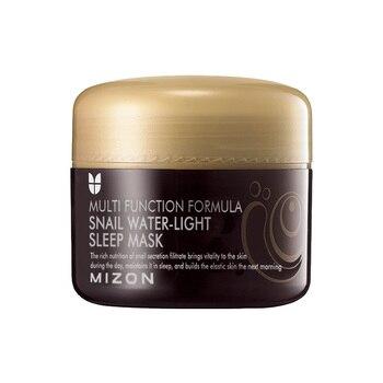 MIZON Snail Water Light Sleep Mask 80ml Snail Serum Face Mask SkinCare Anti Wrinkle Moisturizing Facial Mask Scar Acne Treatment
