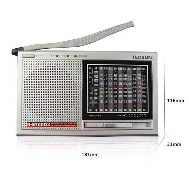 Радиоприемник TECSUN R-9700DX, FM/SW/MW