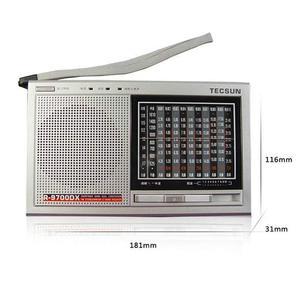 Image 2 - TECSUN R 9700DX Fm Radio Original Guarantee SW/MW High Sensitivity World Band Radio Receiver With Speaker Portable Radio