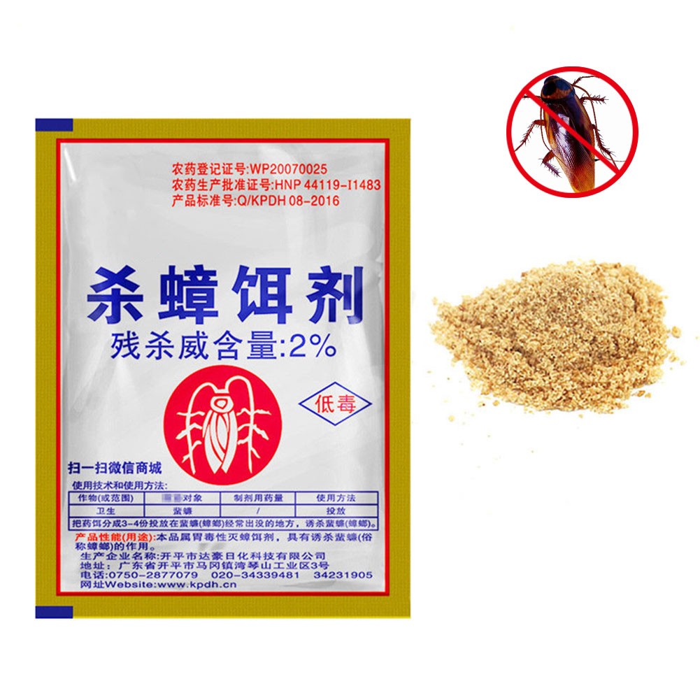 Effective Cockroach Killing Bait Powder Cockroach Repeller Home Pest Killer Insecticide From Cockroaches Poison For Cockroaches