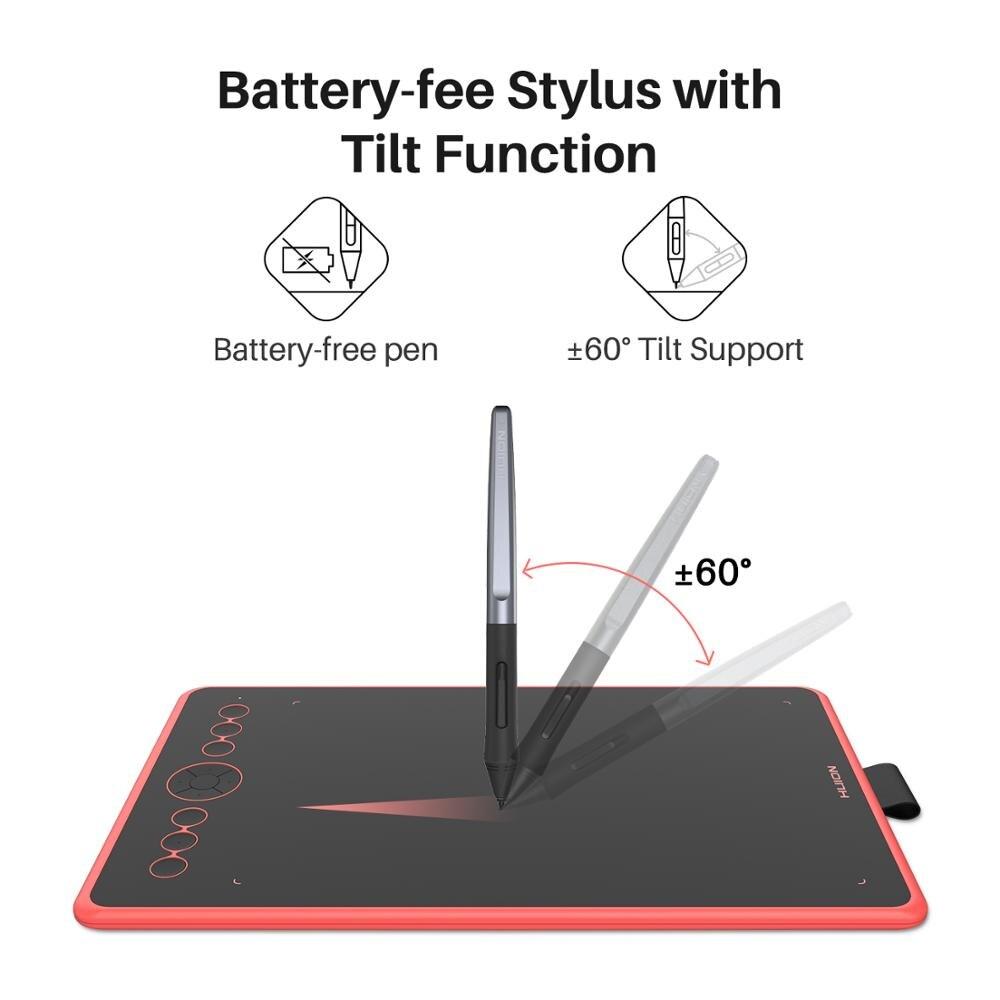 Huion H320M Grafik, Zeichnung, Tablet und LCD Digitalen Schreibtafel Tablet HadWriting Pad mit Batterie freies Stylus für Android /PC - 2