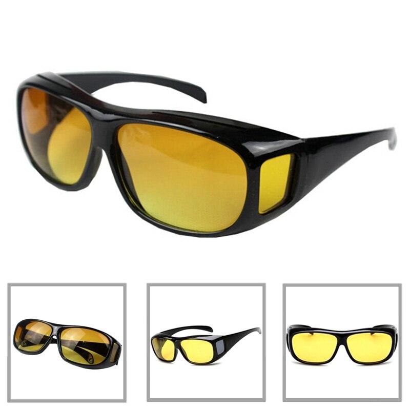 Car Driving Glasses Eyewear UV Protection Men Women Sunglasses Goggles Yellow Lenses Sunglasses Night Vision