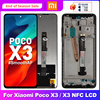 """6.67"""" Original For Xiaomi POCO X3 Display LCD Touch Screen Digitizer For POCO X3 NFC LCD Replacement Parts M2007J20CG Display"""
