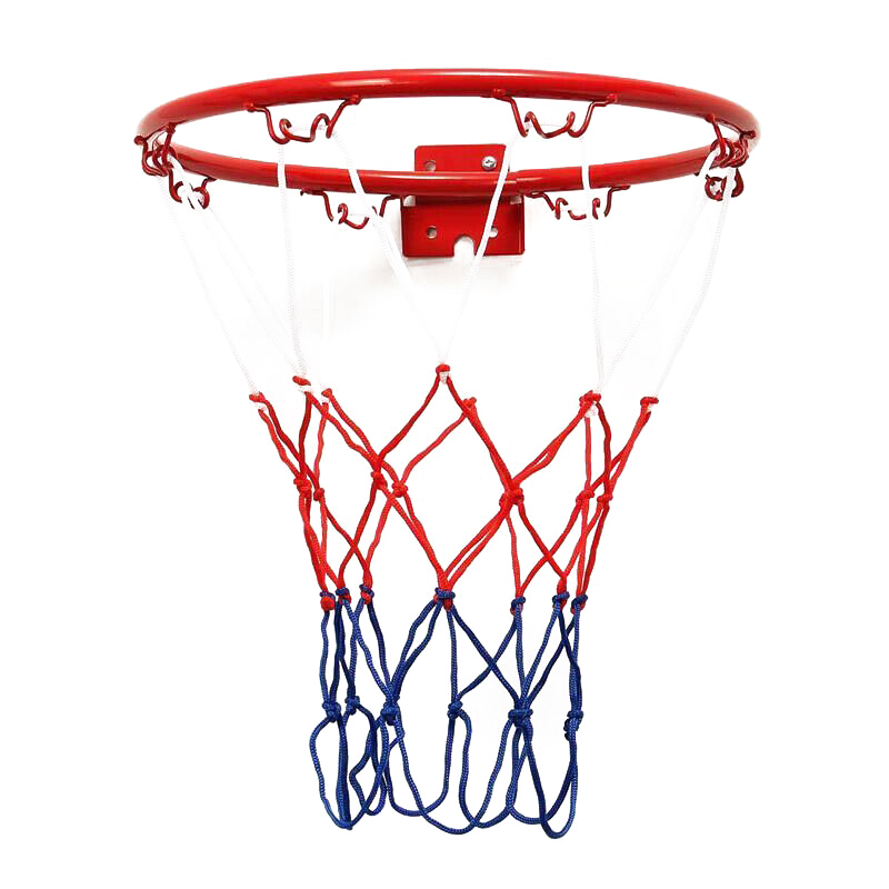 NEW Basketball Goal Hoop Rim Net Wall Mounted Foldable For Indoor Outdoor Children