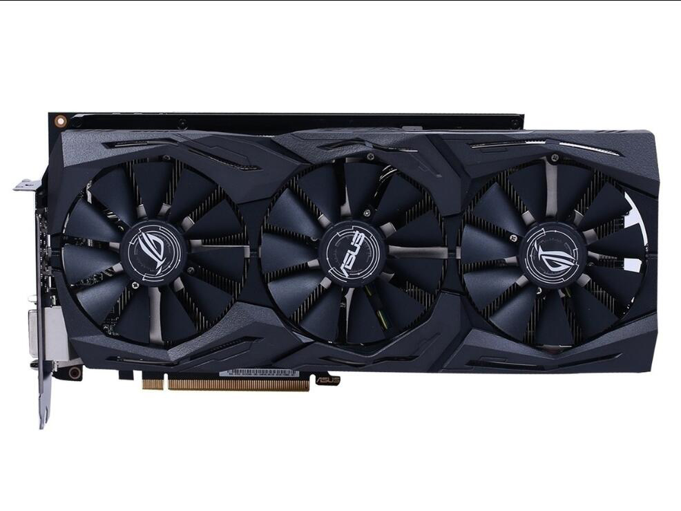 Asus ROG-STRIX-RX VEGA64-O8G-GAMING HBM2 8GBDesktop Game Graphics Card
