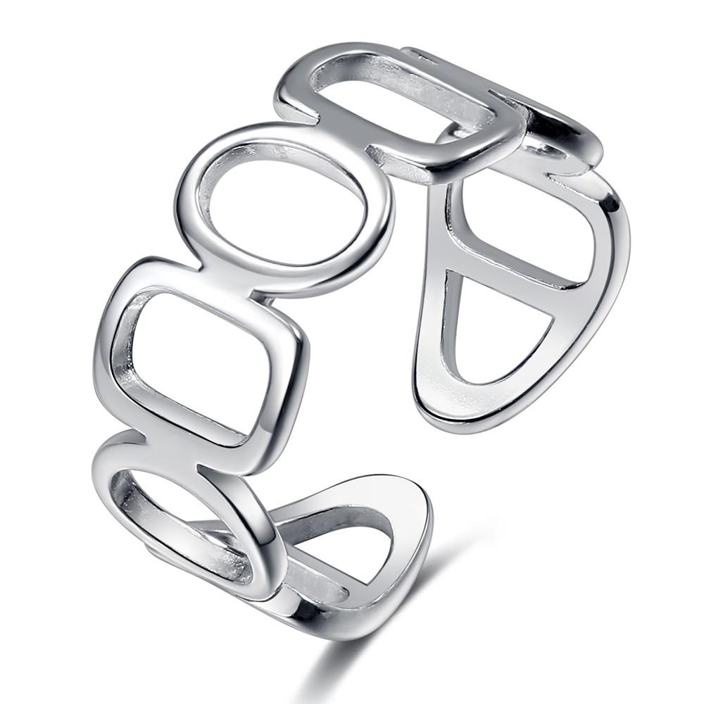 Ring For Women Girls Snake Smile Fashion Men Jewelry Vintage Ancient Silver Color Punk Hip Hop Adjustable Boho Frog
