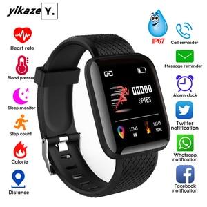Smart Watch Men Women Smartband Blood Pressure Measurement Waterproof Fitness Tracker Bracelet Heart Rate Monitor Smartwatch(China)