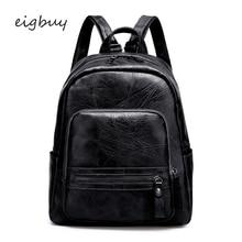 Ladies Backpack Single Shoulder Bag Luxury Student College  Black Vintage Backpacks For Teenage Girls Back Pack Travel Bookbag