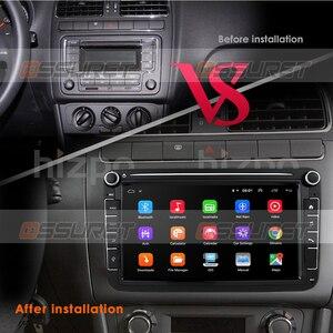 Android 10 двойной 2 Din Автомобильный мультимедийный плеер GPS навигация для Volkswagen VW golf passat b6 Touran polo sedan Tiguan jetta