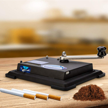 2019 Rolling Machine for Cigarette Electric Automatic Cigarettes Rolling Machine Tobacco Injector Maker Roller DIY Smoking Tool electric automatic cigarette machine diy cigarette rolling making machine with adapter diy smoking tool