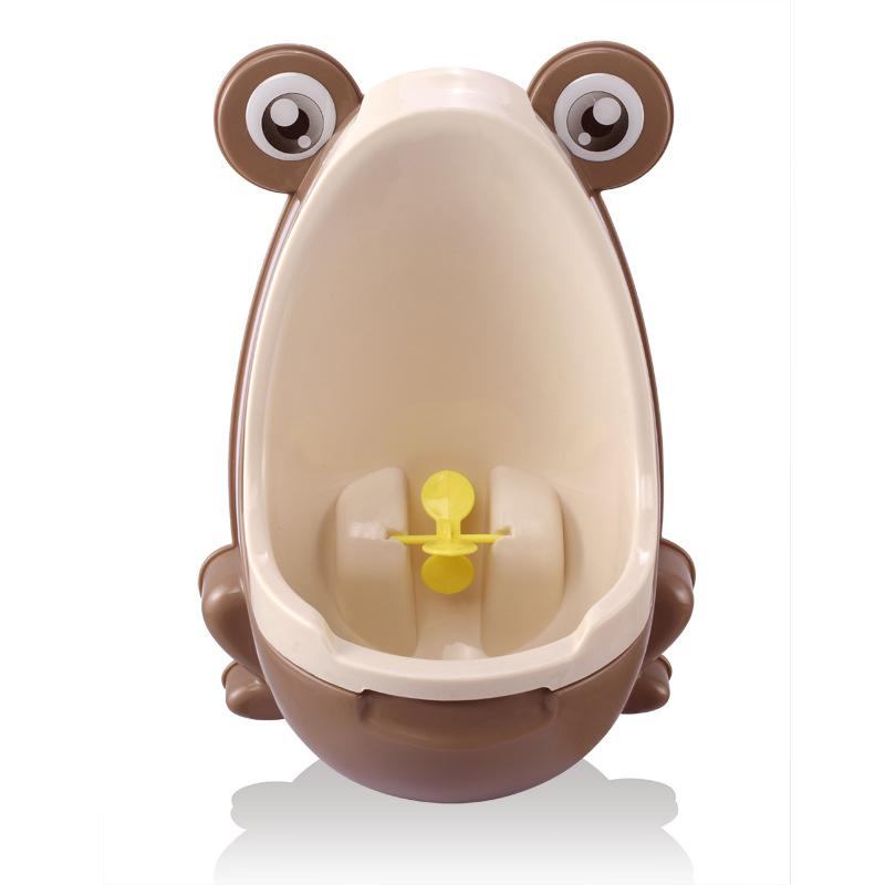 HobbyLane Cute Frog Potty Training Urinal For Boys With Interesting Whirling Target Kids Removable Toilet