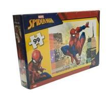 Keskin renk örümcek adam 99 Parça bulmaca