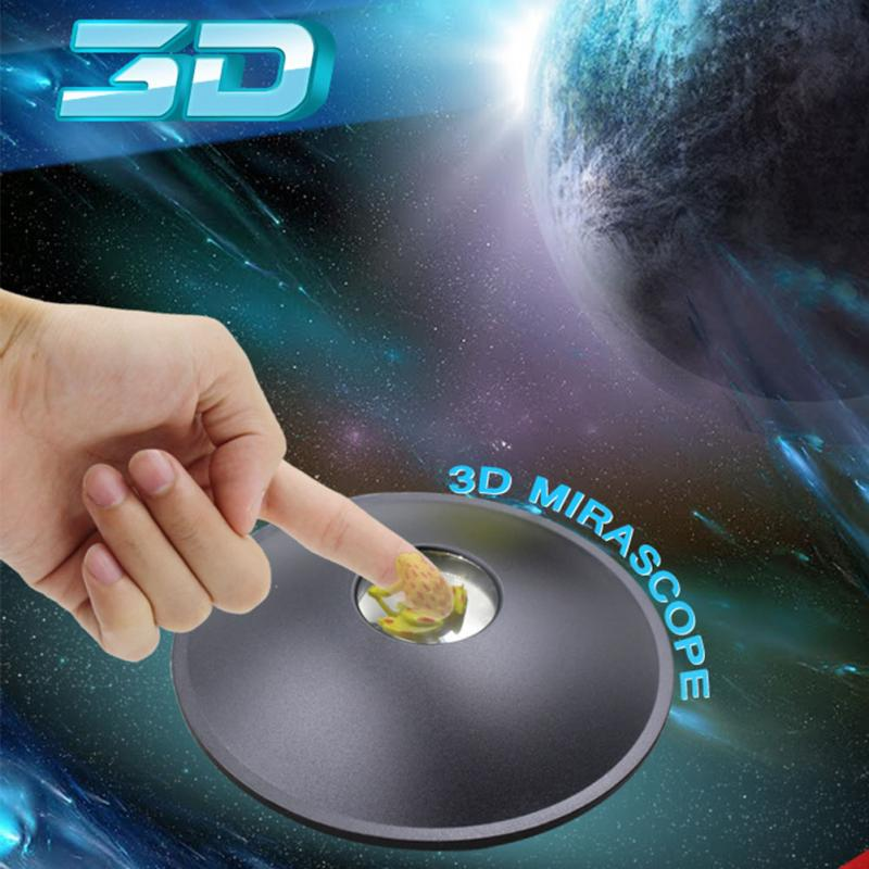 3D Mirascope Instant Illusion Maker Parabolic Optical Hologram Portable Early Education Image Magic Toy