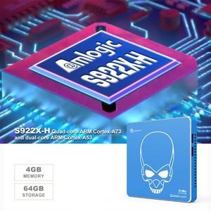 Image 3 - Beelink GT מלך PRO Hi Fi Lossless קול טלוויזיה תיבה עם Dolby אודיו Dts להקשיב 2.4G/5.8G WIFI Amlogic S922X LAN 1000MSet למעלה תיבה