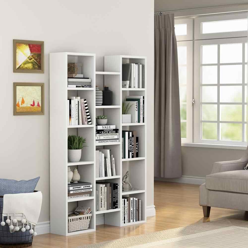 59 H Modern 5 Shelf Bookcase Organizer Open Storage Bookshelf For Home Office Us Bookcases Aliexpress