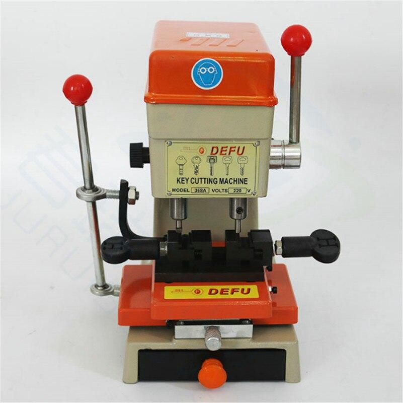 339C Vertical Key Cutter Defu Key Cutting Machine For Duplicating Security Keys Locksmith Tools Lock Pick Set 220v/50hz 150W