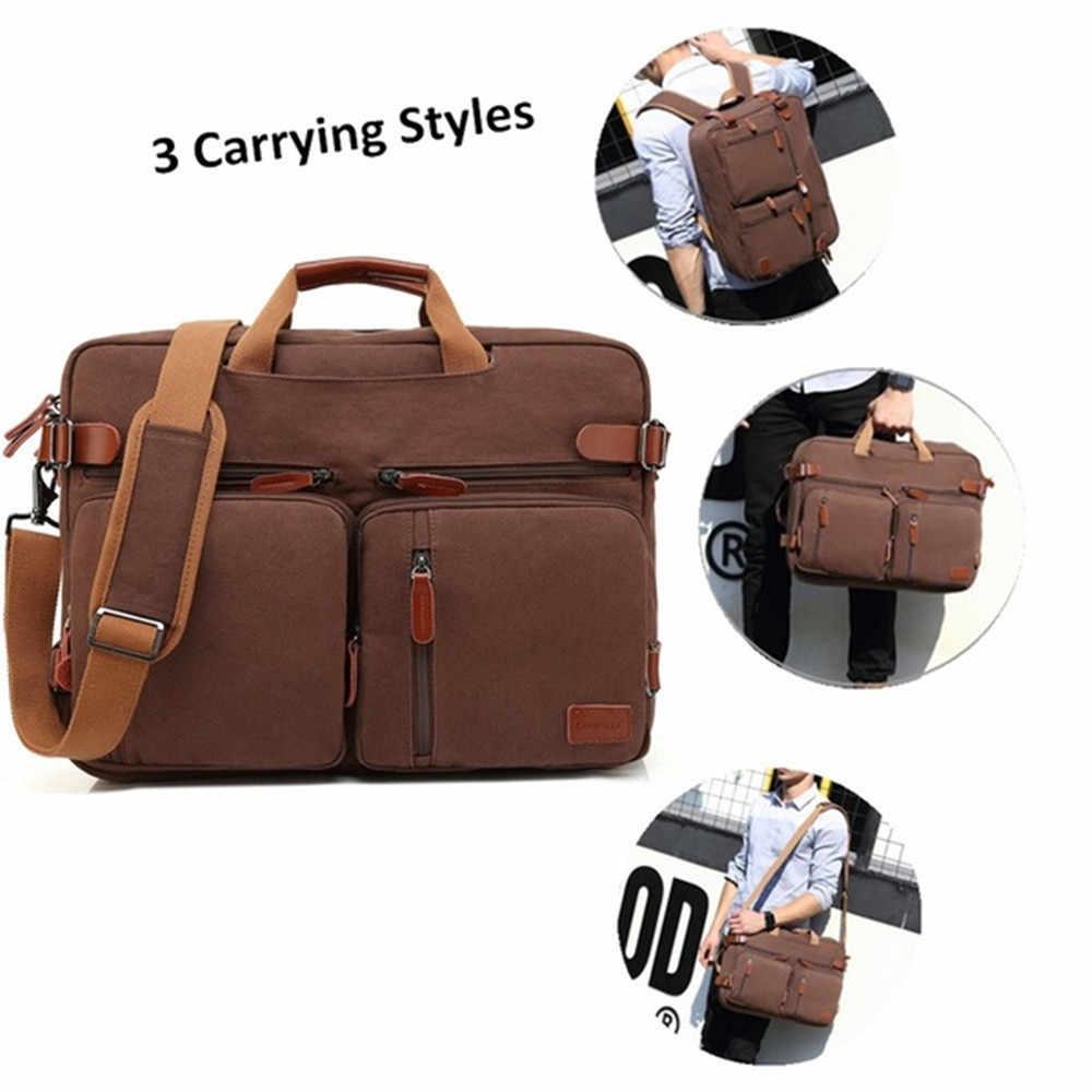 COOLBELL sırt çantası 15.6 / 17.3 inç cabrio Laptop sırt çantası İş çok fonksiyonlu seyahat çantası naylon su geçirmez sırt çantası