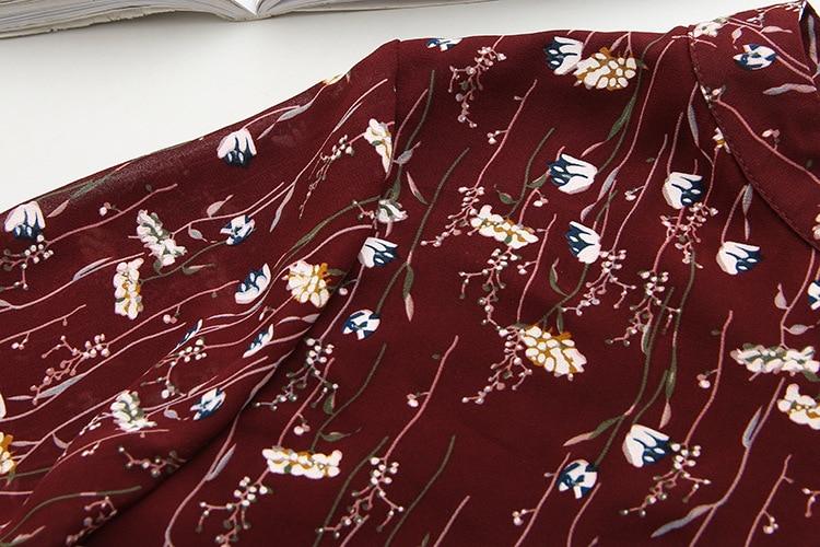 Купить женская шифоновая блузка с коротким рукавом и v образным вырезом
