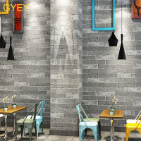 3D Stereo Simulation Brick Brick Culture Brick Wallpaper Retro Nostalgia Restaurant Clothing Store Barber Shop Brick Wallpaper